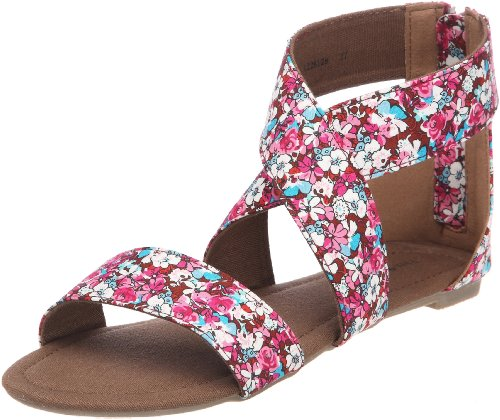 Friis & Company Chiye, Sandales femme Rose (Flower)