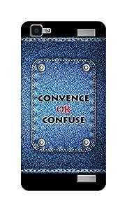 SWAG my CASE Printed Back Cover for VIVO V1 MAX