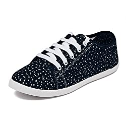 Asian Shoes Ladies LR-15 Navy Blue shoe 7 UK/Indian