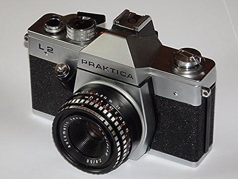 Appareil photo–Praktica L2veb Pentacon Dresde–SLR Camera + objectif Automatic Lens 2.8/50Domi Plan # # # Collector's Item by lll Group # #