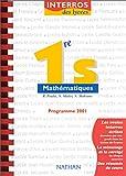 Mathématiques 1ère S. - Programme 2001