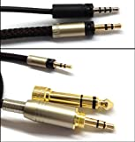 1.2m NEW Replacement Audio upgrade Cable For Sennheiser momentum over-Ear On-Ear Headphones