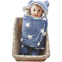 GreForest-Bambino appena nato che SleepSack ispessimento Sacco a pelo separati Gambe Wearable Blanket migliori per l