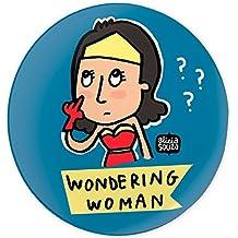 Wondering woman badge