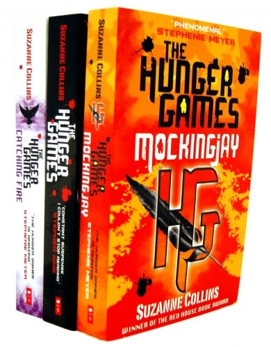 The Hunger Games Trilogy 3 Books Collection Set Suzanne Collins (Mockingjay (part III of The Hunger Games Trilogy), The Hunger Games (Hunger Games Trilogy), Catching Fire (Hunger Games, Book 2))