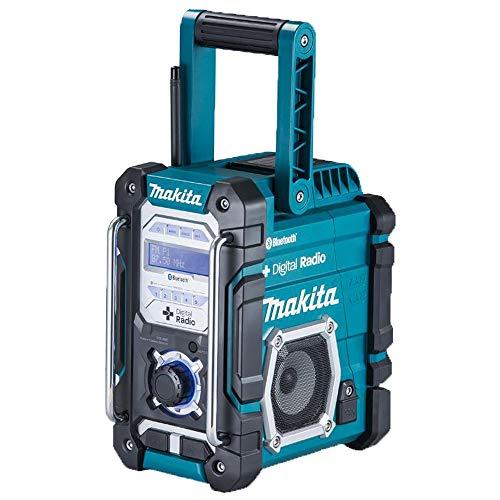 Makita DMR112 Akku-Baustellenradio 7,2V-18V mit DAB+ und Bluetooth