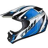 THH TX-11 #10 Kids Motocross Helmet M Black/Blue