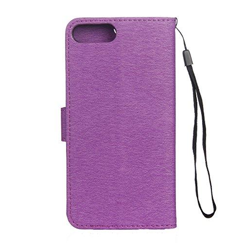 Cover iPhone 7 Plus 8 Plus, Sportfun Custodia Portafoglio In Pelle Con Wallet Case Cover Per iPhone 7 Plus 8 Plus con Porta Carte e Funzione Stand (06) 01