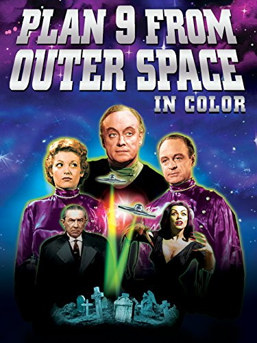Plan 9 From Outer Space (in Color) [OV] -