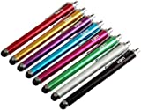 Tedim Universal Capacitive Stylus Pen for iPad/iPhone/Tablet/Smartphone (Pack of 8)