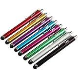 Tedim - Pennino capacitivo universale per iPad/iPhone/Tablet/Smartphone (confezione da 8)