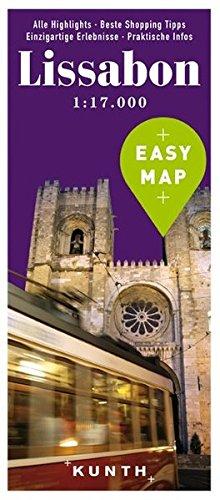 EASY MAP Lissabon: 1:17.000 (KUNTH EASY MAP / Reisekarten)