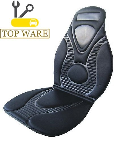 KFZ Heizbare Sitzauflage schwarz 12V beheizbare Sitzauflage