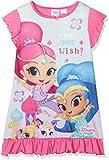 Shimmer & Shine What's Your Wish', Camicia da Notte Bambina, Rosa (Pink 014), 7-8 Anni