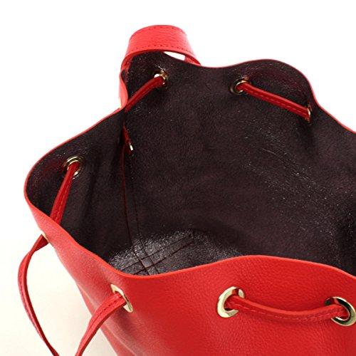 Coccinelle Beuteltasche Ariel 23 01 Rosso