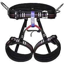 MHGAO GAOHL Escalada al aire libre, medio cinturón y rescate cinturones