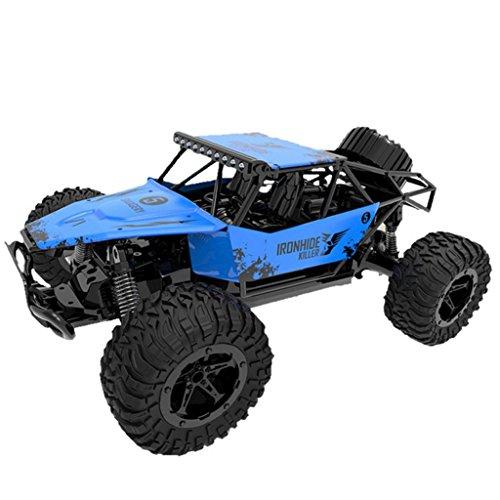 3615bk 1/16RC Racing Auto, mamum 1: 162WD High Speed RC Racing Auto Fernbedienung Truck Offroad Buggy Toys gelb/blau Einheitsgröße blau