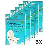 Toilet Seat Cover - Servizi igienici Protezione sedile - Travel Pack copriwater monouso di carta, materassi, sedili WC riposa 50 da St. Steyocare