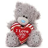 "Me to You 5-Inch Tatty Teddy Plush Bear Holding an ""I Love You"" Heart"
