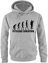 FOTOGRAF EVOLUTION -Herren Hoodie Gr. S bis XXL Vers. Farben