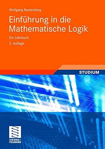 Einführung in die Mathematische Logik: Ein Lehrbuch  (Studium) (In Der Design-computer-software)