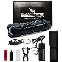 2X Hell 10000lm aufladbare Shadowhawk Taktische Taschenlampe CREE LED Fackel