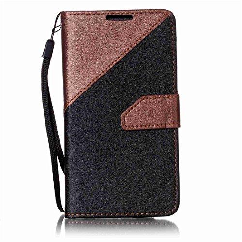 Nancen Compatible with Handyhülle Galaxy S4 / I9500 (5 Zoll) Hülle PU Leder Tasche Schutzhülle Flip Case Wallet für, Magnetverschluss Standfunktion Brieftasche und Karten Slot Media Wallet Case