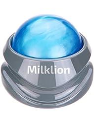 Milklion Balle de Massage, Masseur de Soulagement des Muscles Serrés et Douloureux, Soulage l'épaule, les Bras, le Dos, l'abdomen, les Jambes, les Mollets, la Tension des Pieds ou des Muscles