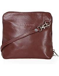 6ba658a1c9a27 Mayfair Cashmere Made in Italy - 100% italienisches Leder Handgefertigte  Kleine Mini Cross Body Schulter Handtasche Clubbing Bag…