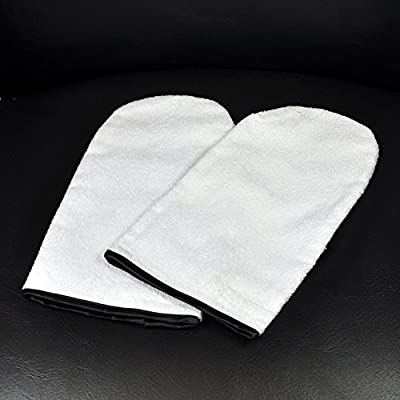 Pair of Manicure / Paraffin Wax Hand Mitts - Cotton