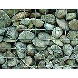 Gabionen-Wand 2000x1000 Masche 100 x 100 4,5 mm