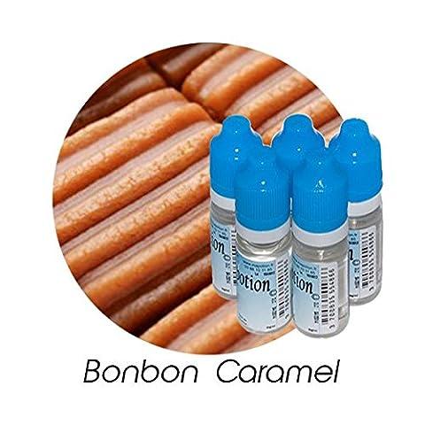 MA POTION - Lot de 5 E-Liquide Bonbon Caramel, Eliquide