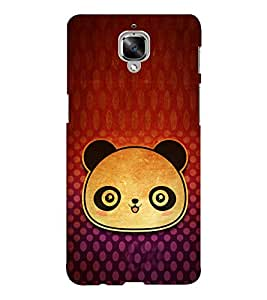 EPICCASE baby panda Mobile Back Case Cover For OnePlus Three (Designer Case)