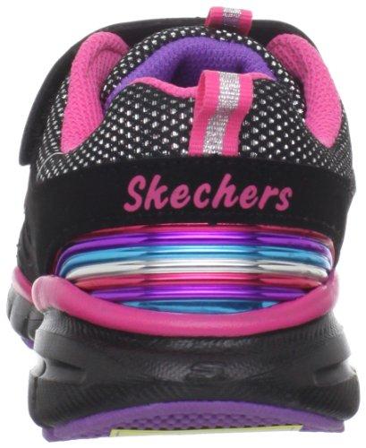Skechers Lite Spirit-Helios, Baskets mode fille Noir (Bkmt)