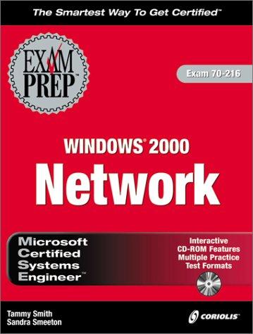 MCSE Windows 2000 Network Exam Prep (Book & CD)