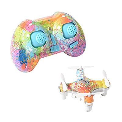 Cheerson CX-10D 2.4GHz 4CH 6 Axis RC Romote Control LED Rechargeable Portable Mini Quadcopter Helicopter Drone RC198