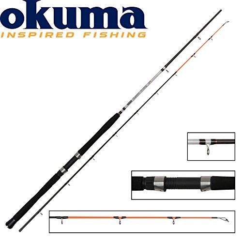 Okuma Classic UFR Trolling 210cm 10-20lbs - Trollingrute zum Lachstrolling, Schlepprute zum Schleppangeln, Ostsee Trollingruten