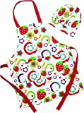 Shreds Sugar and Spice Strawberries Apron and Chef\'s Hat Set