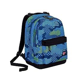 7b645543f5 Zaino SEVEN – THE DOUBLE PRO XXL – Blu – Verde – 30 LT schienale  compatibile ...