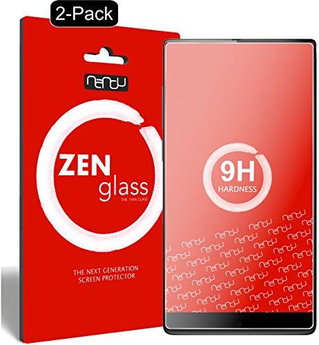nandu I ZenGlass [2 Stück] Flexible Glas-Folie für Umidigi Crystal Panzerfolie I Bildschirm-Schutzfolie 9H I (Kleiner Als Das Gewölbte Bildschirm)