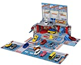 Takara Tomy Tomica Maintenance Factory Inc. Carrying Box toy Playset (NO CAR)