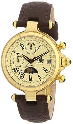 Constantin Durmont - Reloj analógico para mujer de cuero beige de Constantin Durmont