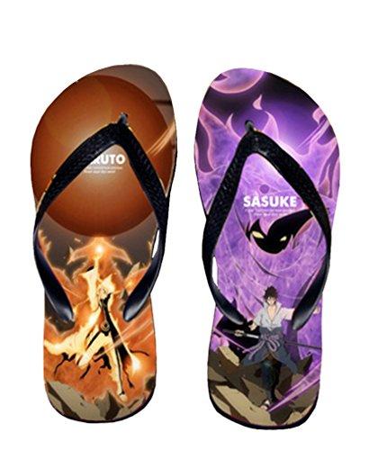 Bromeo Naruto Anime Unisex Flip Flops Zehentrenner Flip Pantoffeln 319 ZMJTbXjm