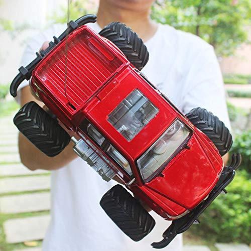 Kikioo Mini RC Autos 4WD Hochgeschwindigkeitsfahrzeug 2,4 GHz Funkfernsteuerung Off Road Racing Monster Trucks Raupe Chariot Drifting Schnelle Elektrische Race Desert Buggy Mit LED Light Vision Metal