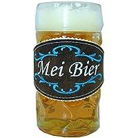 Marcador para vasos, traje típico de cerveza para el vaso de 1l – Accesorio tradicional