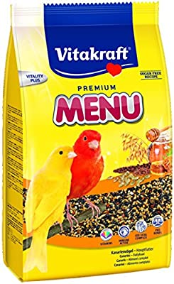Vitakraft Canary Menu Bird Food 500g x 6 by Vitakraft Burton Dene Ltd