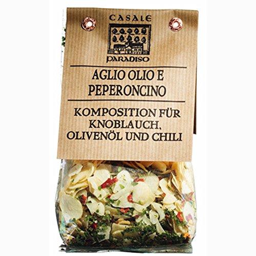 Mixed Herbs for Pasta Aglio, Olio e Peperoncino 100 gr. - Casale Paradiso