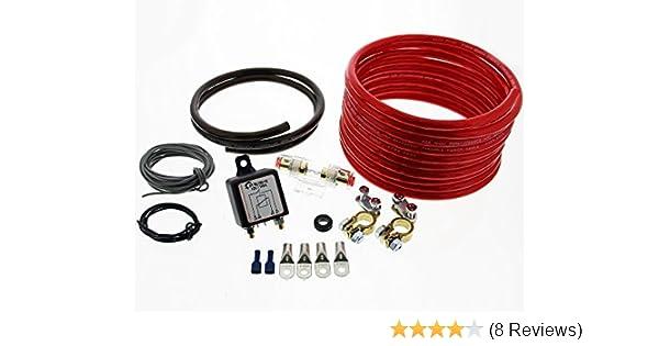 The Drive -13100- Trennrelais DT RL180/12 Einbauset mit 20mm² Kabel ...