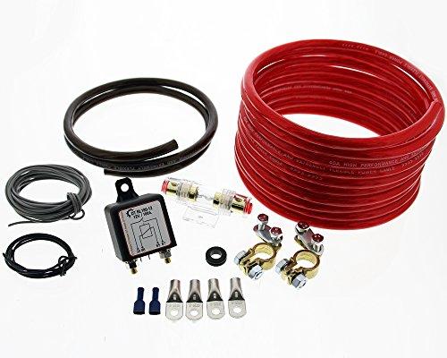 Preisvergleich Produktbild The Drive -13100- Trennrelais DT RL180 / 12 Einbauset mit 20mm² Kabel von The Drive