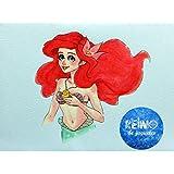 Lienzo Ariel (La Sirenita)